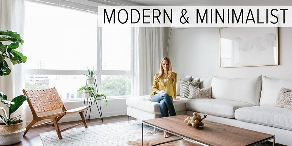 Как да подредите хол в минималистичен стил?