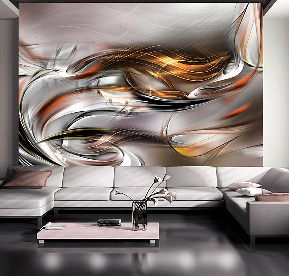 Фототапет - Golden cloud, Фототапети, Абстракции