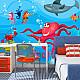 Фототапет - Octopus and shark, Фототапети, Фототапети