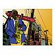 Фототапет - Saxophonist in New York, Фототапети, Хоби
