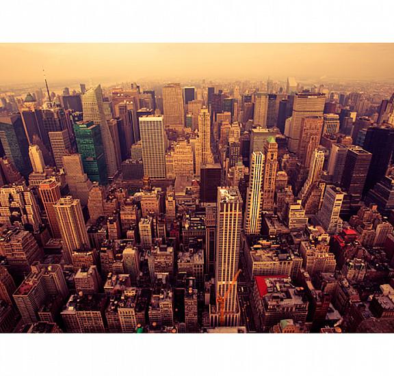 Фототапет - Bird Eye View Of Manhattan, New York, Фототапети