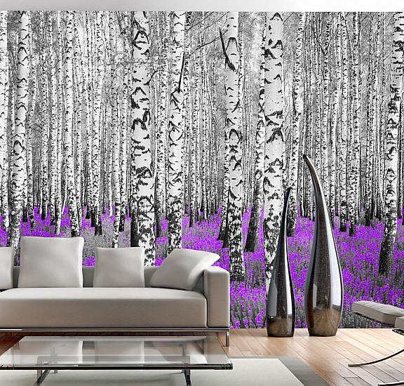 Фототапет - Purple asylum, Фототапети, Пейзажи