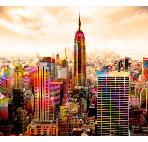 Фототапет - Colors of New York City III, Фототапети, Градове