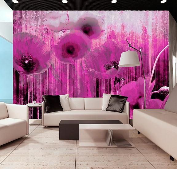 Фототапет - Pink madness, Фототапети, Цветя
