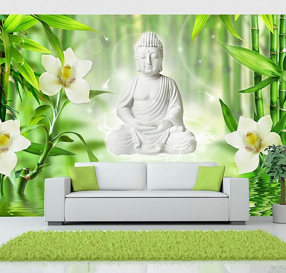 Фототапет - Buddha and nature, Фототапети, Фототапети