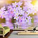 Фототапет -  Violet Petals In Bloom, Фототапети, Цветя