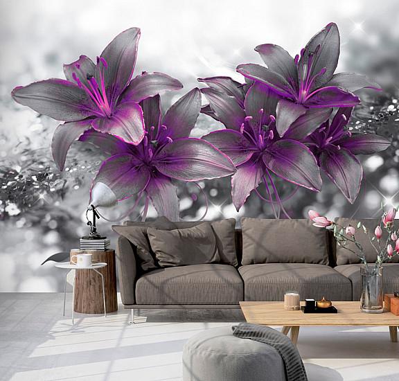 Фототапет - Secret of the Lily, Фототапети, Цветя