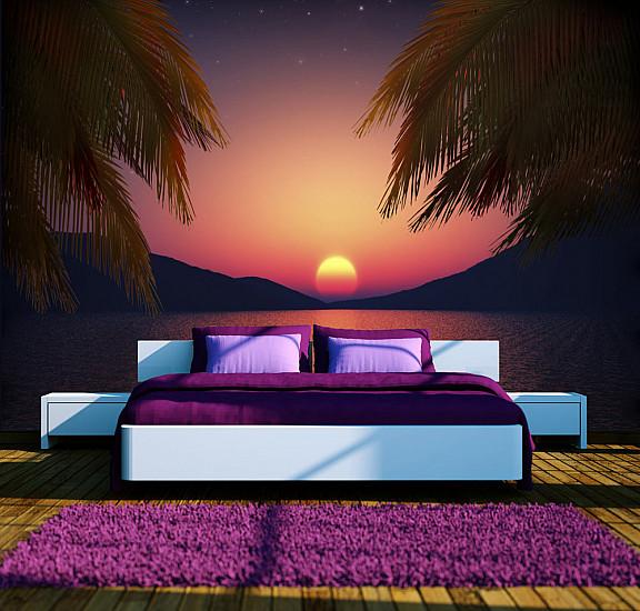 Фототапет - Romantic evening on the beach, Фототапети, Пейзажи