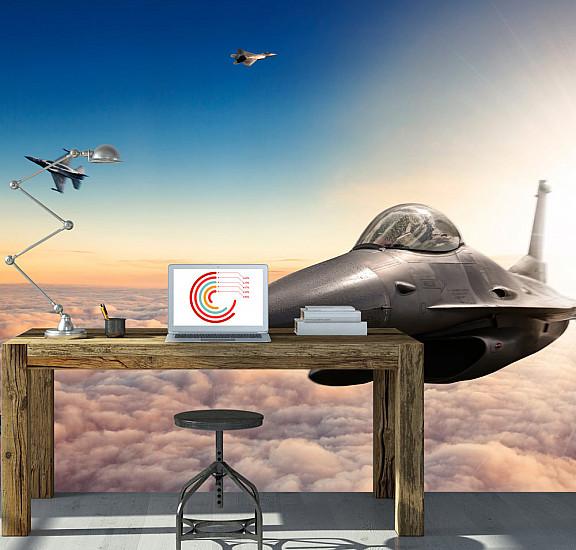 Фототапет - F16 Fighter Jets, Фототапети, Хоби
