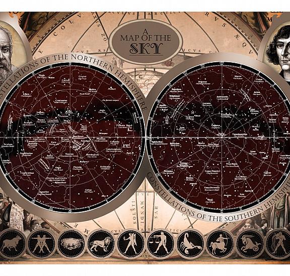 Фототапет - Map of the sky, Фототапети, Фототапети