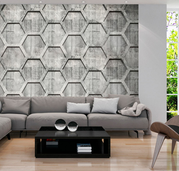 Фототапет - Platinum cubes, Фототапети, Фонове и десени