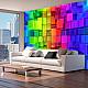 Фототапет - Colour jigsaw, Фототапети, Фонове и десени