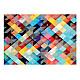 Фототапет - Colour Patchwork, Фототапети, Фонове и десени