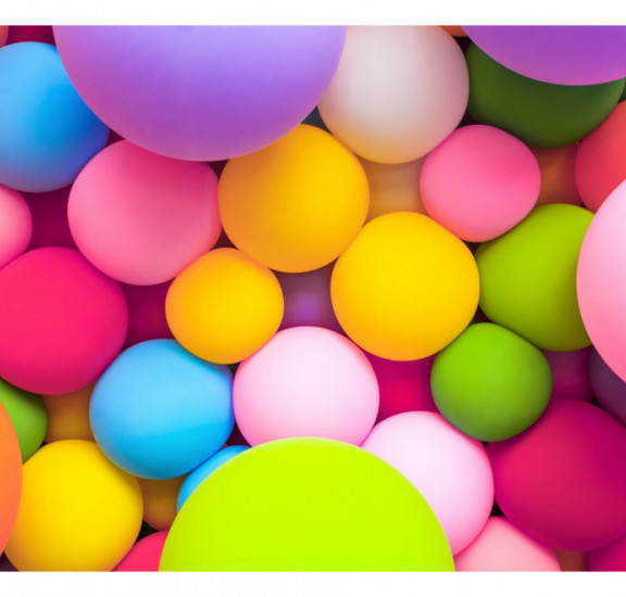Фототапет - Colourful Balls, Фототапети, Фонове и десени