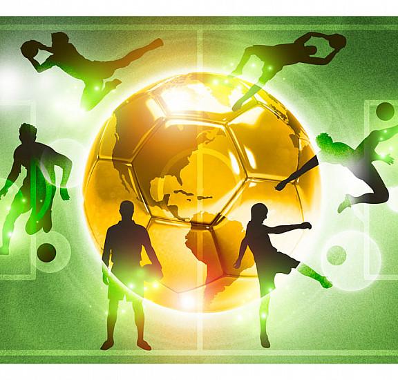 Фототапет - Football training, Фототапети