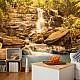 Фототапет - Sunny Waterfall, Фототапети, Пейзажи