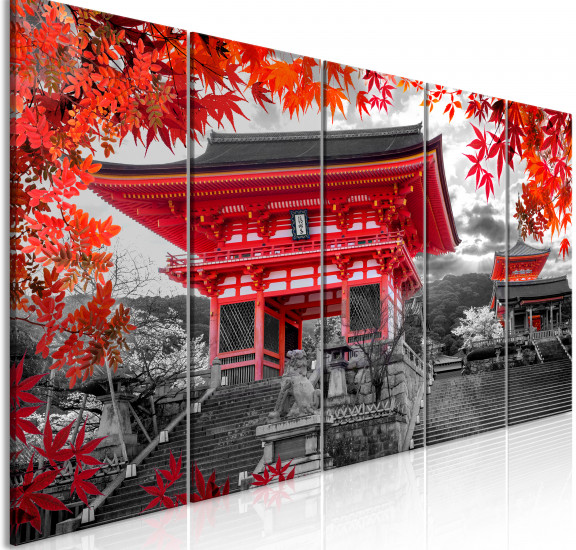 Картина - Kyoto, Japan (5 Parts) Narrow, Картини, Градове