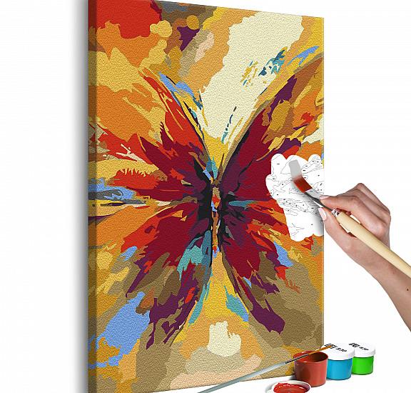 Оцветяване според номерата - Multicolored Butterfly, Ново зареждане